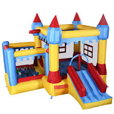inflatable crayon bounce house castle jumper moonwalk with blower