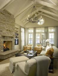 Lighting For Sloped Ceilings by 16 Ways To Add Decor To Your Vaulted Ceilings