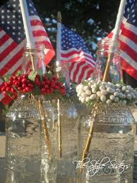 memorial day table decoration ideas the style sisters