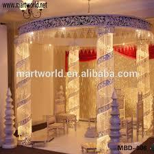 wedding backdrop design singapore decorative lighted mandap with led light wedding