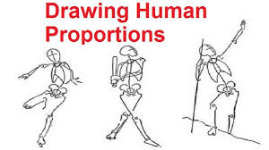 figure drawing lessons 2 8 drawing human proportions using stick