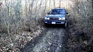 lexus cars carwale lexus lx470 off road barely in france youtube