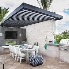 What Does El Patio Mean Modern Patio Alfresco Design With Feature Pergola Patio Alfresco