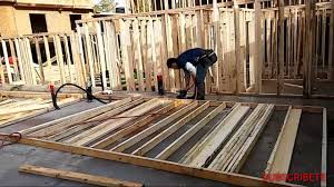 How To Frame A Wall by How To Frame A 2x4 Wall Framing In Surrey Bc 2 3 Youtube