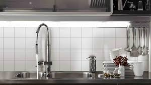wall tile kitchen square grey modern stainless steel stove black
