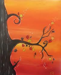 Best Painting October Tree The Painters Lounge Best Paint U0026 Wine In Phoenix
