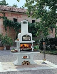 Chiminea With Pizza Oven Palazzetti Outdoor Bbq Pizza Oven Capri Stainless Steel Ovenla