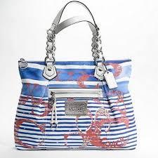 nautical bag 40 coach handbags poppy nautical stripe glam coach purse