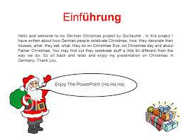 weihnachten in deutschland einführung introduction wie feiern