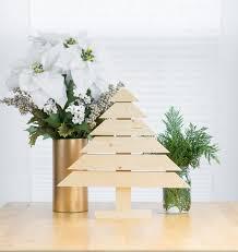 modern christmas diy rustic and modern wood christmas tree