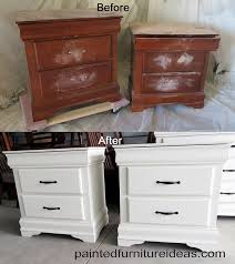 paint furniture white furniture decoration ideas