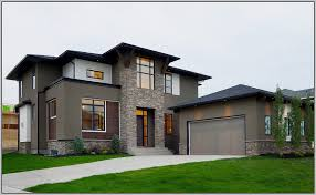 outdoor contemporary paint color ideas for modern house exterior