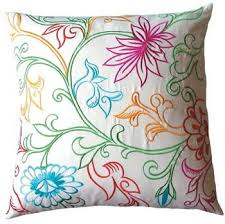 embroidered pillows for embroidered pillow home design america