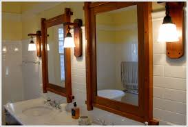 Craftsman Style Bathroom Lighting Wonderful Bathroom 43 Best Craftsman Style Mirrors Images On With