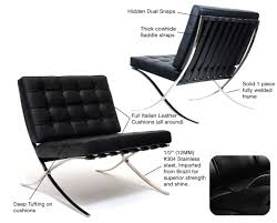 barcelona chair replica reproduction