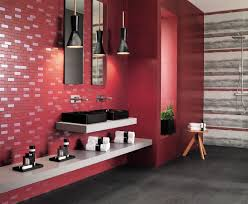 design wall tiles in red by atlas concorde