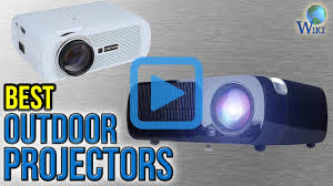 top 8 outdoor projectors of 2017 review