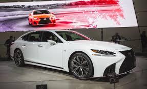 lexus is sport lexus announces 2018 ls500 and ls500h f sport car and