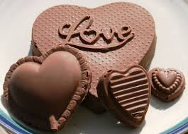 chocolate s day beautiful chocolate heart for you happy chocolate day 2014