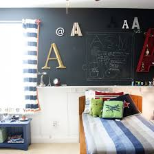 bedroom chalkboard decoration for kids room with nice wall