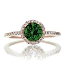 gold emerald engagement rings 1 5 carat classic emerald and vintage engagement