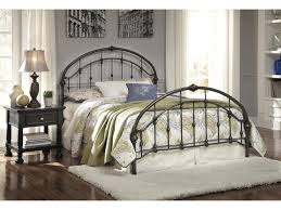 Ashley Bed Frames by Signature Design By Ashley Nashburg Queen Arched Metal Bed In