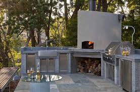 Outdoor Kitchen Pizza Oven Design Outdoor Kitchen Designs Featuring Pizza Ovens Fireplaces And
