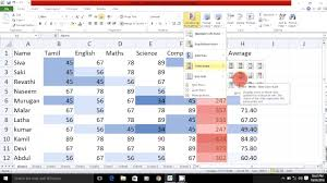 excel 2010 tutorial for beginners 10 how to learn microsoft excel 2010 in tamil part 4 youtube