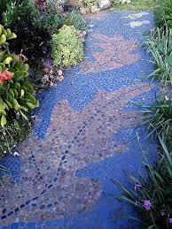 garden mosaic ideas garden path throughout mosaic garden path chupanhcuoidep biz