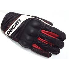 motorcycle gloves ducati sport five racing short leather motorcycle gloves