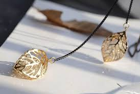 long leaf necklace images Classic leaf tassel long necklace women bijoux new fashion jewelry jpg