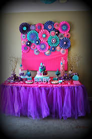 baby shower colors for a girl pink purple turquoise it s a girl baby shower party ideas pink
