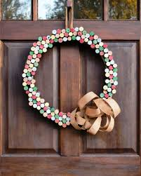 cork wreath how to diy network blog made remade diy