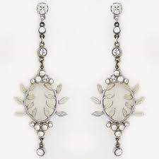 antoinette earrings bridal jewelry antoinette bohemian bridal earrings