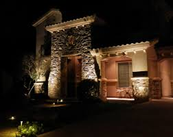 Bollard Landscape Lighting by Outdoor Lighting For Curb Appeal And Safety His Lighting