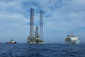 twinza cosl seeker rig leaves for pasca drilling site offshore