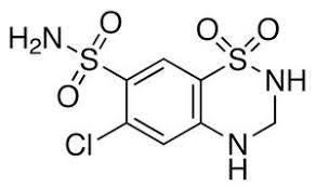 hydrochlorothiazide chemical formula citalopram y lexapro