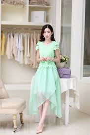 pink lace dress bohemia summer fashion korean cute graceful solid