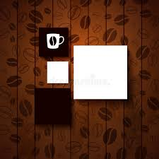 coffee shop background design design template for your coffee shop stock vector illustration of
