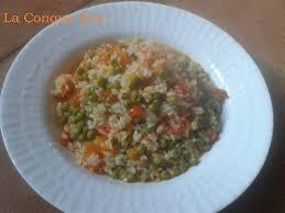 cuisiner le riz riz au potiron et petits pois la conque d or