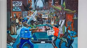 cops as pigs painting rehung on capitol hill by congressional cops as pigs painting rehung on capitol hill by congressional black caucus then