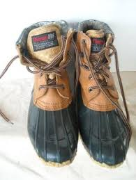 womens duck boots size 11