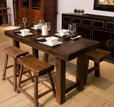 rectangular dining room tables with leaves kitchen design wonderful rustic kitchen tables long skinny
