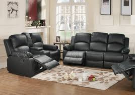 red barrel studio mayday 2 piece leather reclining living room set