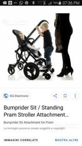 passeggino con pedana secondo bimbo bumprider brevi pedana secondo bambino passeggino tutto per i