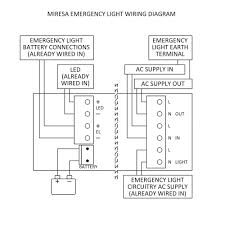 non maintained emergency lighting wiring diagram the best wiring
