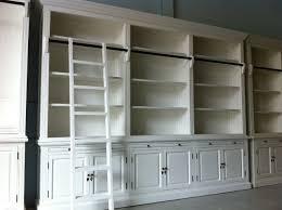 Sauder Library Bookcase by 3 Shelf Bookcase Bookcases Wood Shelf Bookcase White White Wood