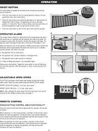 Overhead Door Manual 8389 Overhead Door And Gate Operator User Manual 01 37718 Indd