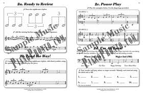 Three Blind Mice Piano Notes Movement 2 Power Pages Hardcopy Workbook Piano Pronto