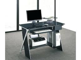 bureau en verre noir bureau verre noir bureau lovely bureau pascal 1 bureau verre trempe